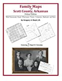 Family Maps of Scott County, Arkansas