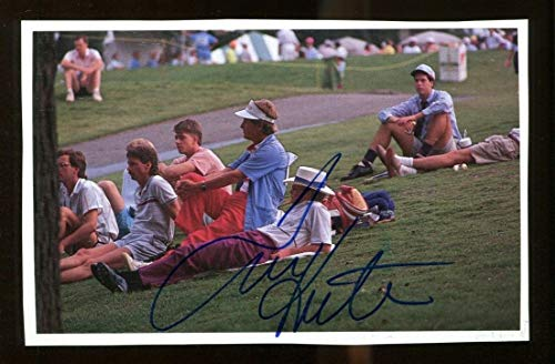Tom Kite Signed Photo Book Page 4x6 Autographed PGA Golf 36222 ()