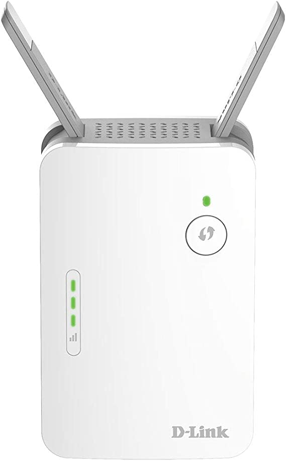 D-Link WiFi Range Extender Plug EXO Mesh AC1300 Dual Band Wireless or Ethernet Port (DAP-1620-EXO)