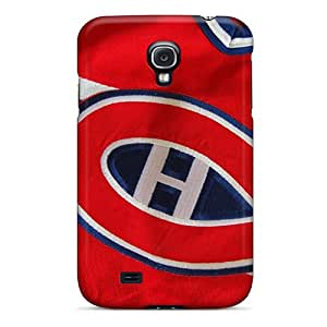 Bumper Hard Phone Cases For Samsung Galaxy S4 (FKL14360HaMm) Custom HD Montreal Canadiens Image