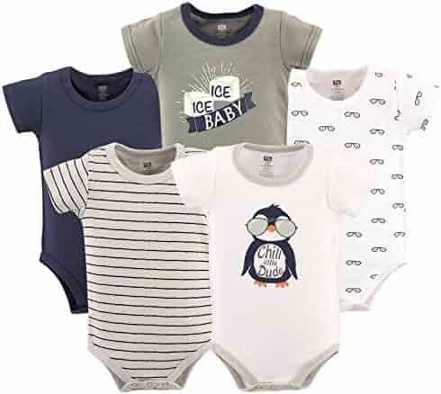 Hudson Baby Baby Cotton Bodysuits
