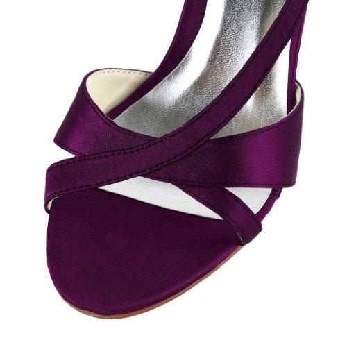 chaussures mariage mariée femme Violet Jia Escarpins Jia Wedding de pour 1415 SxqtYUwnpA