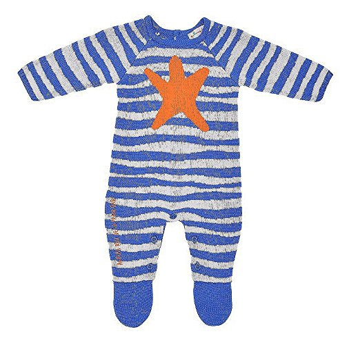 1135165f75 Agatha Ruiz de la Prada Baby Knitted Star tuta Zebra (9300) Blu Blue:  Amazon.it: Abbigliamento