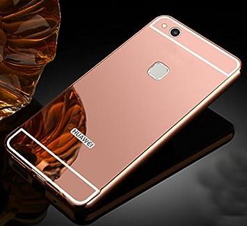 PREVOA Aluminum Bumper Back Funda PC Back Case para Huawei P10 ...