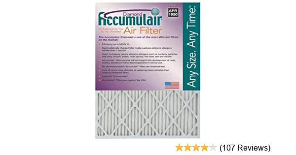 Nordic Pure 19/_3//4x21/_1//2x1 Exact MERV 11 Pleated AC Furnace Air Filters 4 Pack