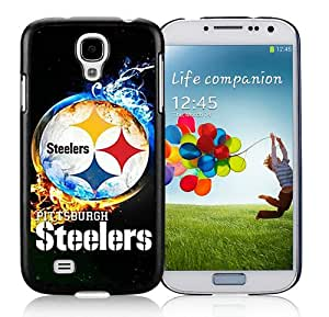 Hot Sale Samsung Galaxy S4 I9500 Screen Cover Case With Pittsburgh Steelers 2 Black Samsung S4 I9500 Case Unique And Beautiful Designed Phone Case