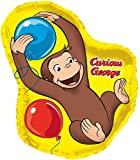 Curious George Animated  35 Inch Giant Shape Foil Balloon