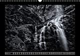Waterfalls Monochrome 2018: The Most Beautiful Waterfalls of Europe in Black and White Fine Art Photography! (Calvendo Nature)