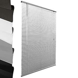 Sol royal soldecor j32 persiana veneciana de aluminio plateado 100 x 220 cm a x l - Persiana veneciana de aluminio ...