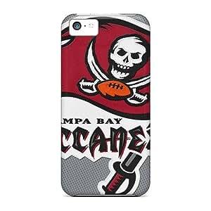 Rewens Premium Protective Hard Case For Iphone 5c- Nice Design - Tampa Bay Buccaneers