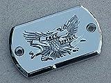 i5 Chrome Eagle Brake Fluid Cap for Yamaha V-Star 650 950 1100 1300.
