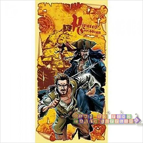 Price comparison product image Pirates of the Caribbean Party Backdrop