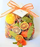 Manu Home Sparkling Citrus Potpourri Vase Filler ~ Made with Beautiful Natural Botanicals and Natural Sap from Trees!