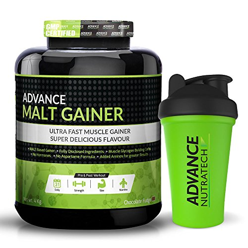 Malt Gainer 8LBS Chocolate Malt Gainer With Free Shaker With 40 Servings.