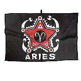 RUNNING BEAN Aries Golf Towel Fashion Sports Towel Player Towel