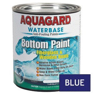 Aquagard Waterbased Anti-Fouling Bottom Paint - 1Qt - Blue