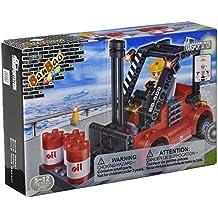 BanBao Forklift Building Kit (128 Piece)