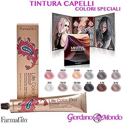 Tinte Pelo Profesional The Mineral FARMAVITA colores ...