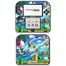 New Super Mario Bros 2 3D Land World Luigi Goomba Video Game Vinyl Decal Skin Sticker Cover for Nintendo 2DS System Console