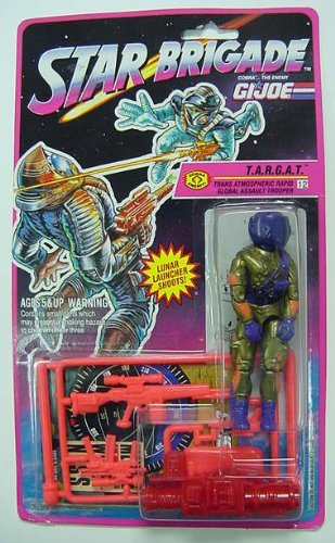 Amazon.com: Gi Joe Star Brigade: t.a.r.g.a.t.: Toys & Games