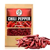 dry chilies - Yimi Premium Whole Dried Chilies, Chinese Dry Red Chili Peppers, For Hot Chili Oil and Sichuan Chongqing Hotpot, 5.3oz, Medium Hot