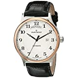 Claude Bernard Men's 83014 357R AB Classic Gents Automatic Day-Date Analog Display Swiss Automatic Black Watch