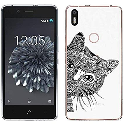 Funda BQ Aquaris X5 Plus, Langlee Carcasa Silicona Gel Slim Fit Case Transparente TPU Goma Bumper Anti-rasguños Flexible Cover para BQ Aquaris X5 Plus ...