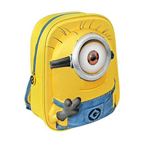 Minions 3d Backpack - One Eye