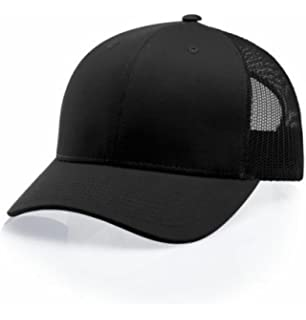 Amazon.com  Richardson 115 LOW PRO TRUCKER BLANK BASEBALL CAP HAT ... 78de5fc1fde