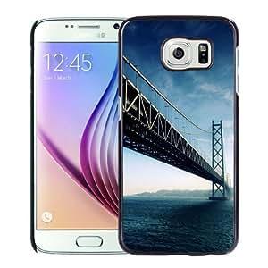 New Personalized Custom Designed For Samsung Galaxy S6 Phone Case For Akashi Kaikyo Bridge Japan Phone Case Cover wangjiang maoyi