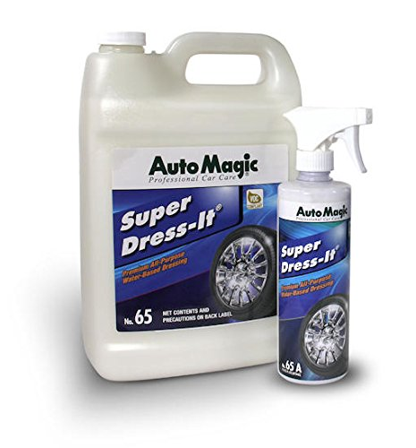 Super Dress-It by Auto Magic - Premium Water-Based Dressing - 1 Gallon