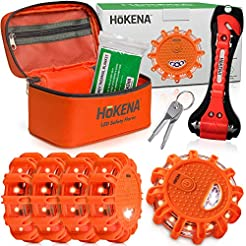 HOKENA LED Road Flares Roadside Emergenc...