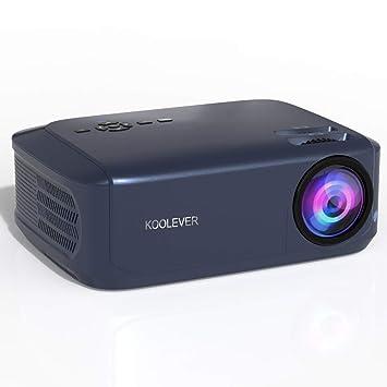 KOOLEVER Leisure Projector con 3800 lúmenes Full HD 1080P y 200 ...