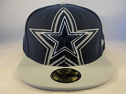 明らか引退するジャニスメンズNew Era Dallas Cowboys over Flock 59 FIFTY Structured Fitted Hat 7 5 / 8