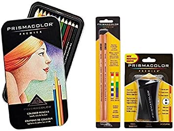 Prismacolor Premier Colored Pencil y juego de accesorios, juego de ...
