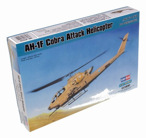 Hobby Boss AH-1F Cobra Attack Helicopter Model Building Kit