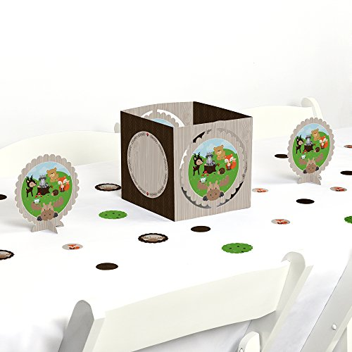 Woodland Creatures - Baby Shower or Birthday Party Centerpiece & Table Decoration Kit