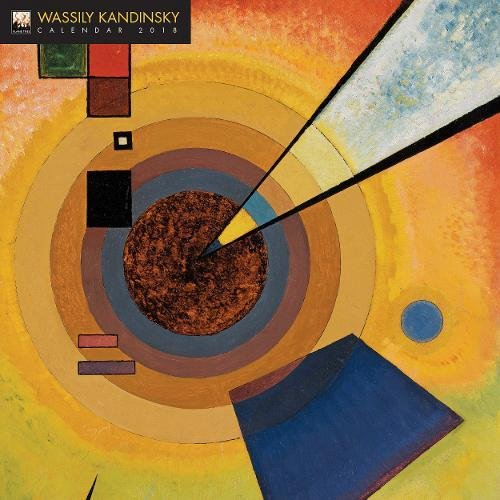 Wassily Kandinsky 2018 12 x 12 Inch Monthly Square Wall Calendar by Flame Tree, Russian Painter Wood Engraver Lithographer