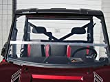 Full Size POLARIS RANGER 570/900/1000 and the Polaris Brutus Full-Tilt Windshield-Best of both worlds. Half when you want and full when you need. (Does not fit the 570 Mid-size)