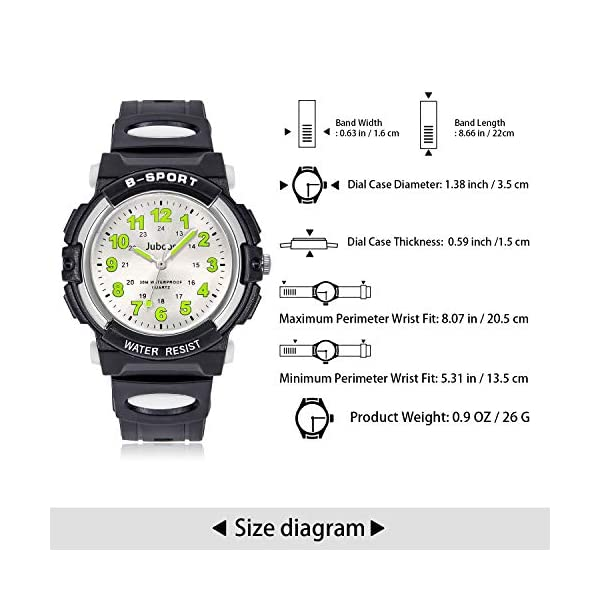 Kids Watch Analog, Child Quartz Wristwatch with for Kids Boys Girls Waterproof Time Teach Watches Rubber Band Analog Quartz Children Sport Outdoor Boys Kids Wrist Watches