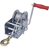vidaXL Cabrestante Manual de Cable 1134 kg/ 2500