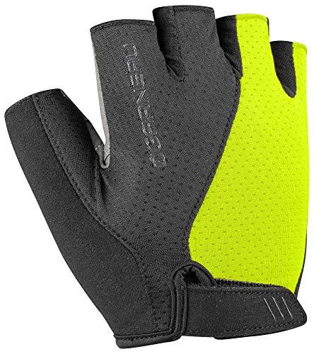 Louis Garneau Men's Air Gel Ultra Bike Gloves, Bright Yellow, -