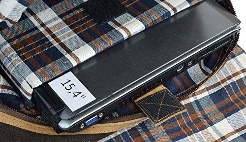 """Gusti Leder studio """"Benedict"""" Mochila Vintage de Cuero Portátil 15,4"""" Estilo Retro Piel de Búfalo Auténtica Unisex Acampada Excursión 2M19-26-9"""