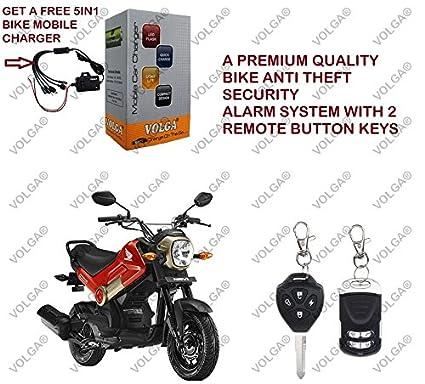 Volga Anti Theft Security Alarm System For Honda Navi With 2 Keys