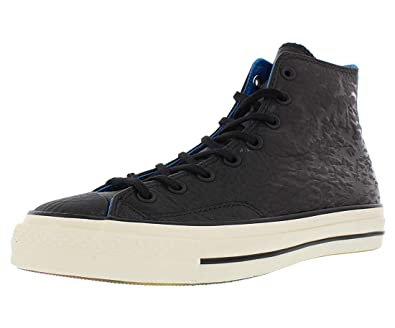 1b83e6d447e909 Converse Chuck Taylor 70 s Hi Batman Sneaker Embossed Black Leather (8.5  D(M)