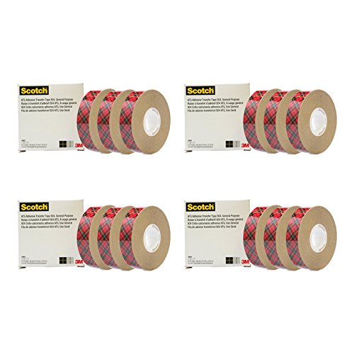 3M 924-3/4 Adhesive Transfer Tape Roll for Scotch Tape Gu...