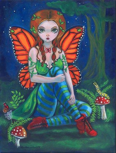 Cheap Caroline's Treasures 7375GF Fairy Monarch Garden Flag, Small, Multicolor