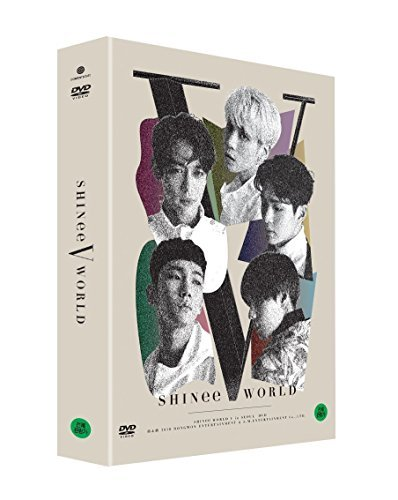 SHINee - SHINee WORLD V in Seoul DVD 2DISC+Postcard Book+6Photocards+Folded Poster+Free Store Gift