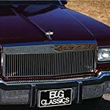 E&G CLASSICS CHEVROLET CAPRICE 1982 TO 1990 LOW PROFILE VERTICAL GRILLE 1026-0101-82R