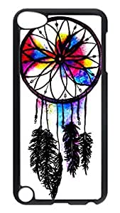 Brian114 Case, iPod Touch 5 Case, iPod Touch 5th Case Cover, Dreamcatcher 10 Retro Protective Hard PC Back Case for iPod Touch 5 ( Black )